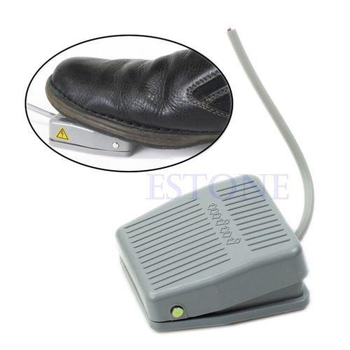 Гаджет  Foot Switch Electric Power SPDT FootSwitch TFS-201 Pedal Momentary Control None Электротехническое оборудование и материалы