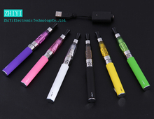 Electronic cigarette kit  vaporizer pen  650mAh 900mAh 1100mAh for 1pcs ego ce4 atomizer battery and charger