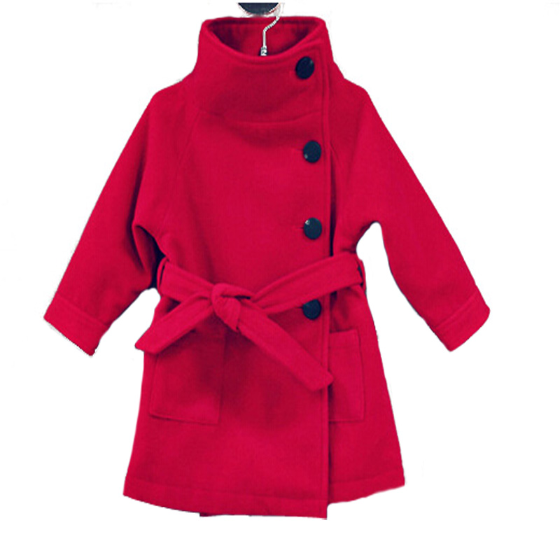 Popular Wool Girls Coats-Buy Cheap Wool Girls Coats lots from ...