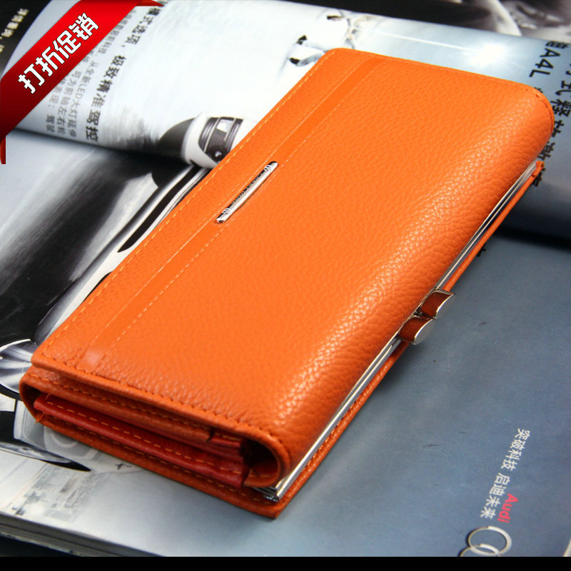New Fashion PU Leather Women Wallet Solid Embossed Litchi Grain Hasp Wallets Ladies' Long Clutches Coin Purse Card Holder(China (Mainland))