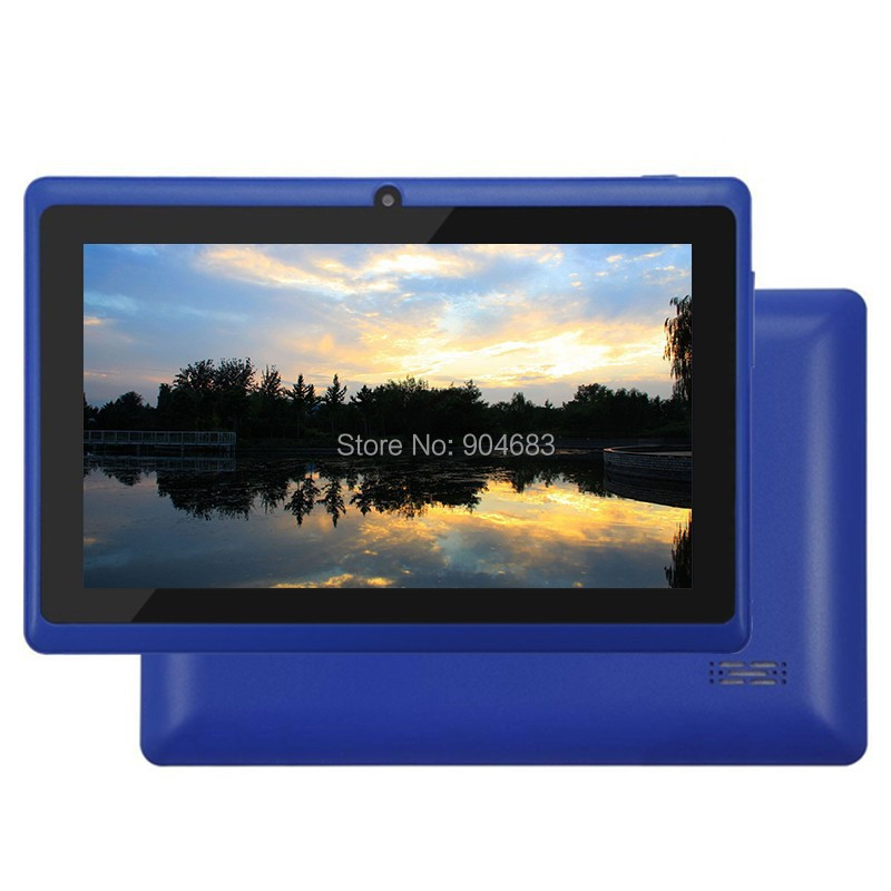 Cheap Q88 A23 dual core or A33 quad core Tablet PC 7inch Capacitive Screen Android 4