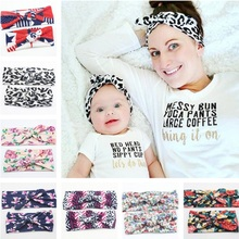 Buy Naturalwell Mother & Baby Kids Turban Hair band Accessories Toddler Girl twist knot Headbands Parent-Child Family Headwear HB011 for $1.90 in AliExpress store