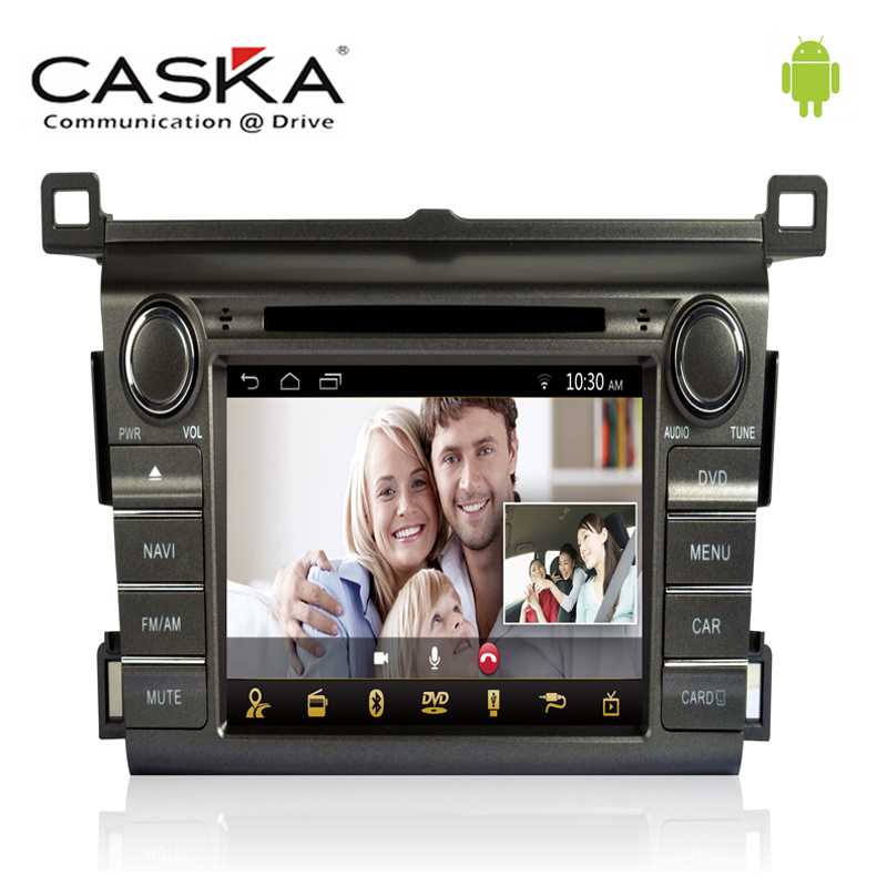 """8"""" Caska Pure Android 4.4.2 DVD Player For Toyota RAV4 2013 Support IOS 8.0 GPS Digital TV Radio BT 3G Wifi Multi-Touch Screen(China (Mainland))"""