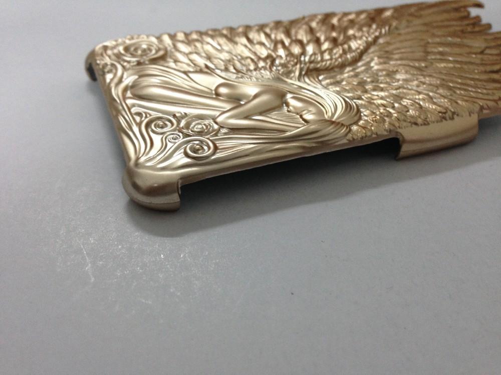 """3D металл покрытие и пластиковые ангел чехол для iPhone 6 4. 7 """" фото"""