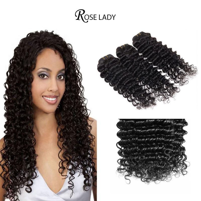 Top Hair Extensions Malaysian Deep Curly Virgin Hair 3 Bundles Aliexpress 6A Mega Hair Deep Wave Malaysian Hair Free Shipping <br><br>Aliexpress