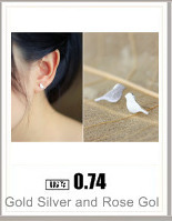 2016 New Fashion Earrings Gold Plated Cross Stud Earrings for Women Ethnic Cross Earrings Jewelry Party Earrings  Gift