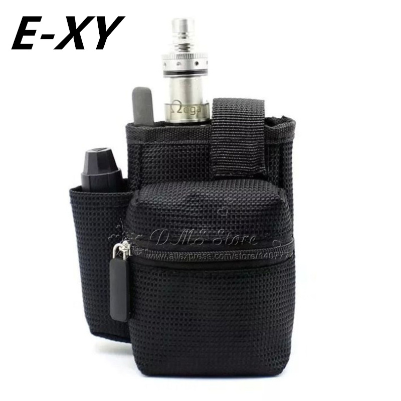 E-XY E cigarette Vapor Pocket E Cig Case Double Deck Vapor bag vape mod carrying case Box Mod kit