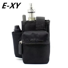 Buy E-XY E cigarette Vapor Pocket E Cig Case Double Deck Vapor bag vape mod carrying case Box Mod kit for $3.54 in AliExpress store