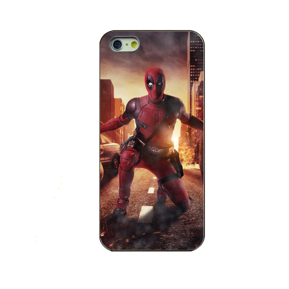 For Apple iPhone 5 5s Phone Case For iPhone 5 5s mobile phone sets About Deadpool latest fashion phone shell cover black PC