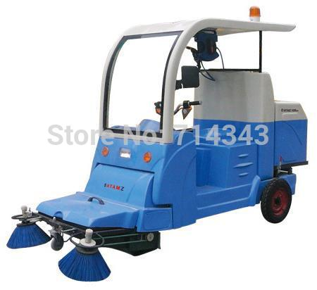 Electric Cleaning Vehicle Vacuum road sweeper discredited truck(Hong Kong)