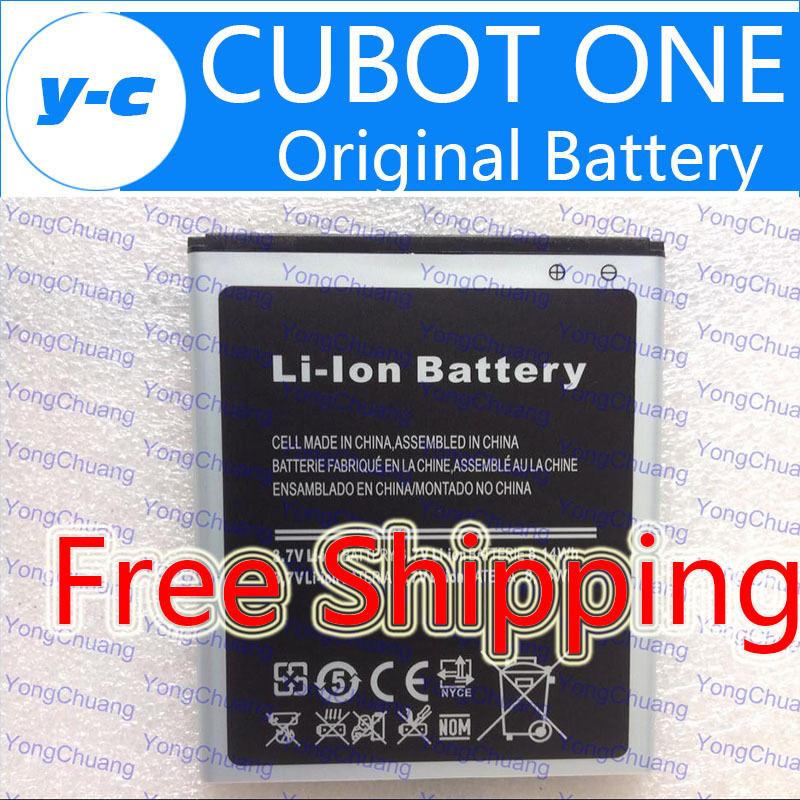 CUBOT ONE Battery Original 2200Mah Universal Batterij Backup Battery For Cubot Ones Smart Phone + Free Shipping - In Stock(China (Mainland))