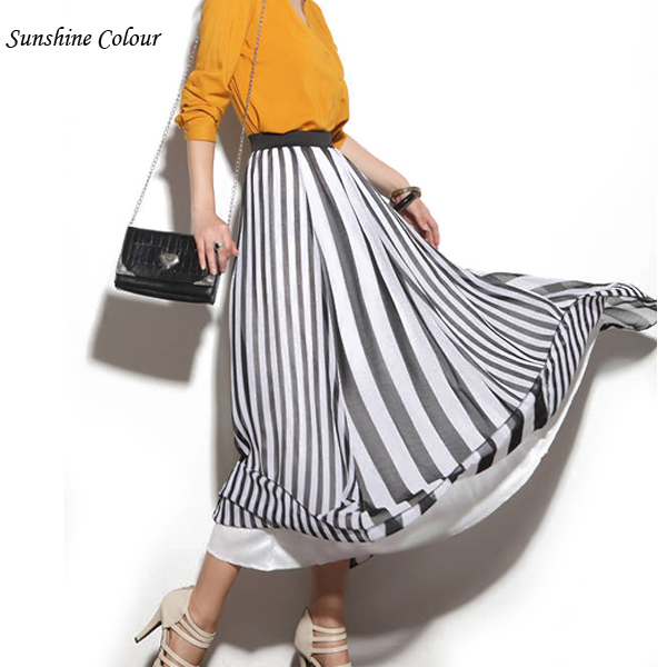 Popular Maxi Striped Skirt-Buy Cheap Maxi Striped Skirt lots from ...