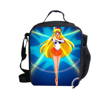 Fashion Cartoon Lunch Bag for Kids,Sailor Moon Girls Lunch Box Termica Lancheira,Children Thermal Lunchbox Keep Warm Food Bag(China (Mainland))