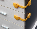 2pcs set Door locks Drawer Toilet Safety Plastic Lock For Child Kids baby Safety Care