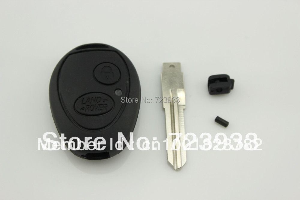 Replace part 2 Range Rover BUTTON KEYLESS ENTRY REMOTE KEY FOB CASE(China (Mainland))