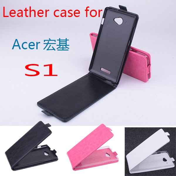 For Acer Liquid S 1 S1 S510 Business Old School Phone Bag Leather Flip Vertical Book Case For Acer S1 Retro Tough Hard Cover(China (Mainland))