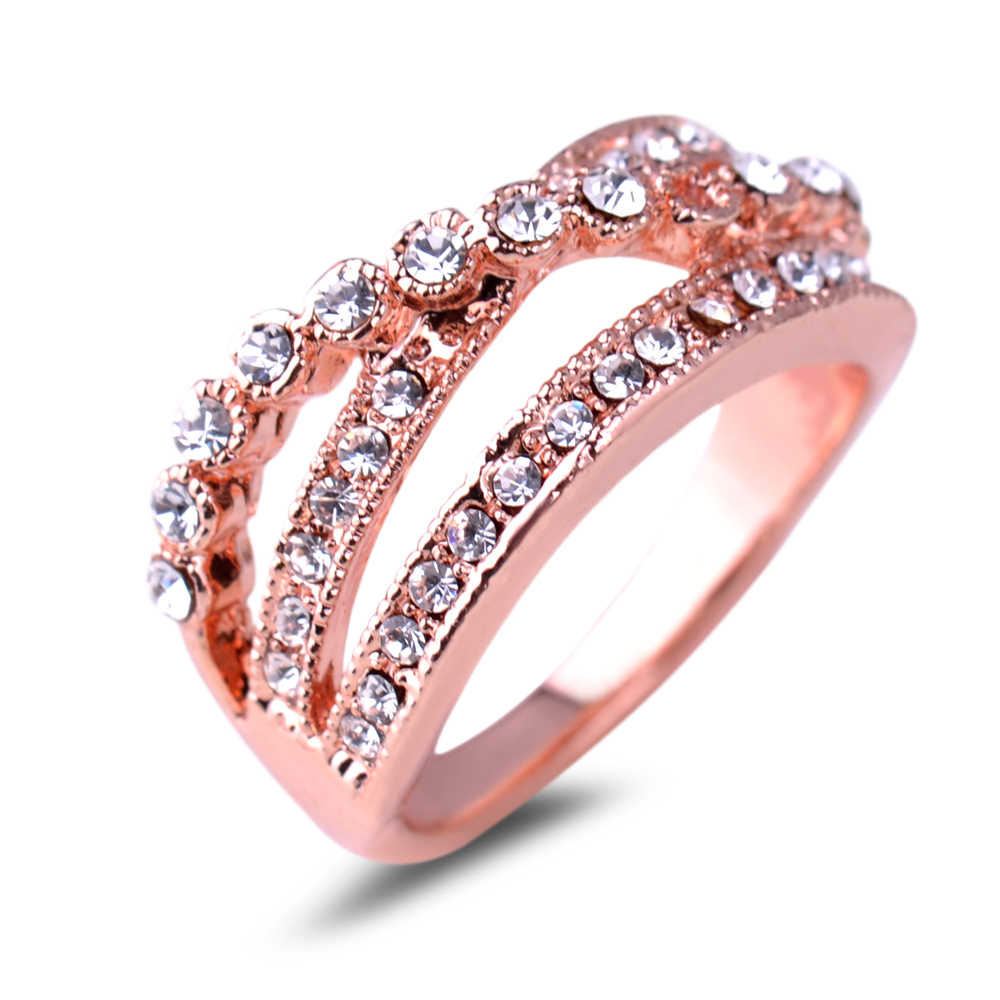 Aliexpress Buy Wedding Rings For Geometric Women Direct Selling Hot Sal