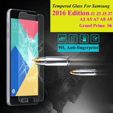 Buy Tempered Glass Screen Protector Film Samsung Galaxy 2016 A3 A5 A7 A8 J1 J1 mini J3 J5 J7 S6 Grand Prime Phone Case Cover for $1.05 in AliExpress store