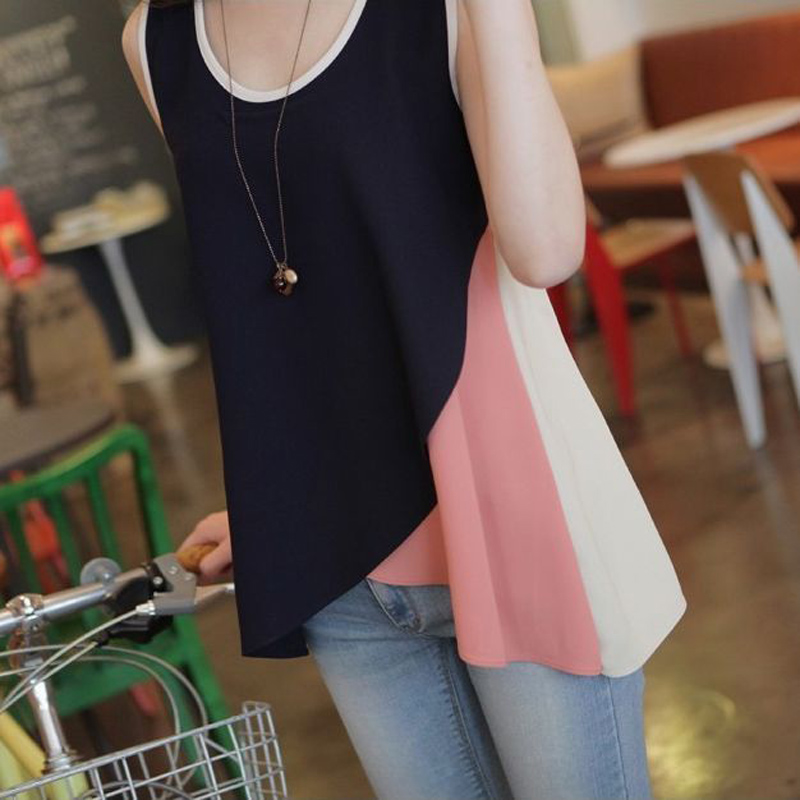 2016 maternity clothes summer casual chiffon pregnant women clothing korean maternity tanks comfort pregnancy tops wear hot sale(China (Mainland))