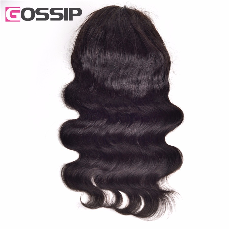 7A Unprocessed Brazilian Virgin Hair Wig Glueless Lace Front Human Hair Wigs For Black Women Body Wave Human Hair Full Lace Wigs