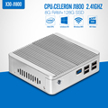 Fanless MINI PC desktop Tablet Computer celeron J1800 N2840 N2830 DDR3 RAM 8G SSD Optional Laptop
