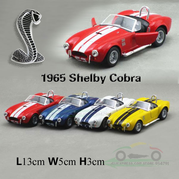 Lada 1:32 Ford Cobra 1965 Shelby Cobra Fashion Children's Toy Car Classic Vintage Car Model Alloy Wholesale Free Shipping(China (Mainland))