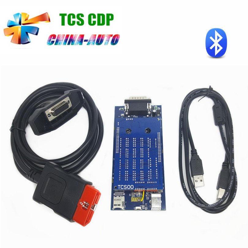 Lowest Price 5/pcs TCS CDP Pro new VCI Diagnostic Scan Tools With Bluetooth for Cars & Trucks 2014.R2/R3 cdp DHL Free(China (Mainland))