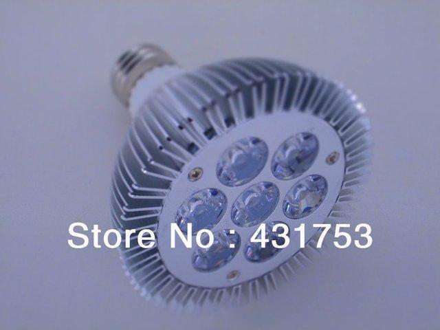 Hot selling,  Par 30 (7x3W) 21W  LED Lamp Bulb light E27 Spotlight Cool White | Warm White 85V-265V Free Shipping 5pcs /lot