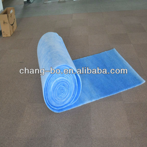 Air inlet cotton used in spray booth, filter cotton,dust collector pre filter media(China (Mainland))