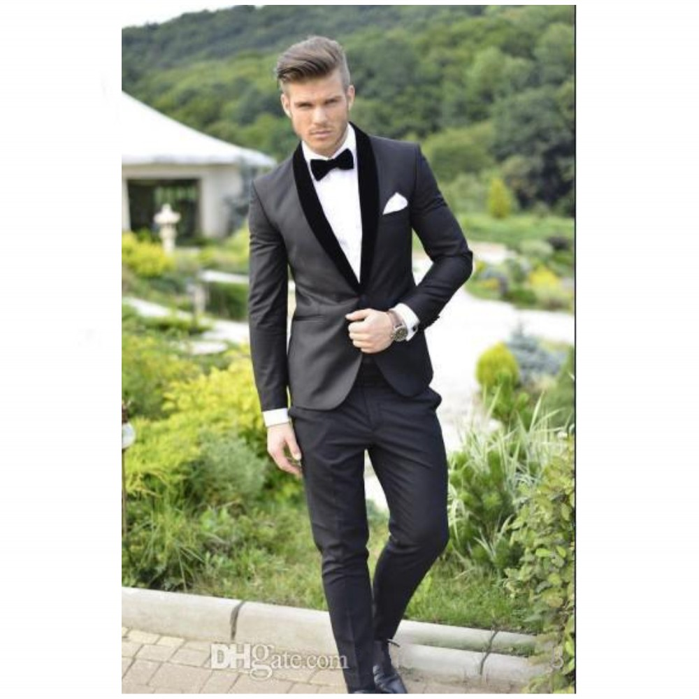 Tailor Made Suit Man Suit  Shawl Lapel Wedding Suits For Man Groomsman Tuxedos Одежда и ак�е��уары<br><br><br>Aliexpress