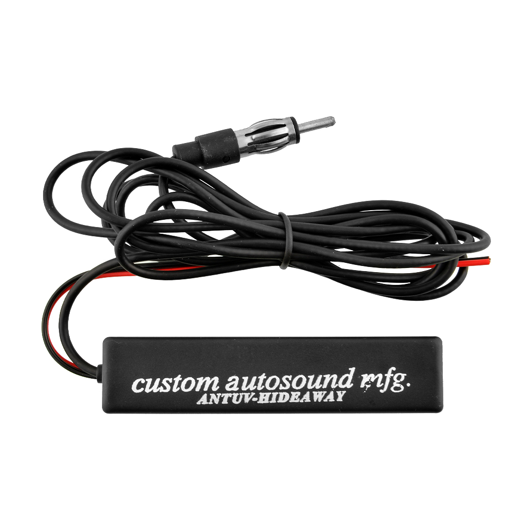 Electronic Stereo Radio AM FM Hidden Amplified Antenna Universal For Car Boat am fm broadcast radio(China (Mainland))