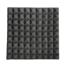 Hot Sale 45x45x5cm Soundproofing Foam Acoustic Foam Studio Sound Treatment Absorption Proofing Wedge Tiles Polyurethane foam(China (Mainland))