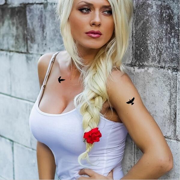 Compte à rebours  - Page 2 Femmes-Sexy-Finger-poignet-Flash-faux-tatouage-autocollants-libert%C3%A9-petits-oiseaux-voler-mod%C3%A8le-%C3%A9tanche-tatouages-temporaires