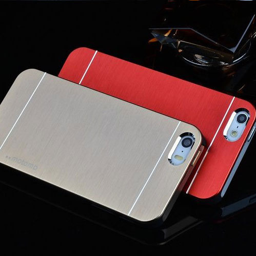1pc for iphone 5S case metal brushed MOTOMO Cover case skin for iphone 5 5s 4 4s(China (Mainland))
