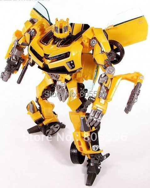 Transformation Human Alliance Bumblebee Optimus Barricade Girmlock Jazz Ironhide Megatron Action Figures Toys without box