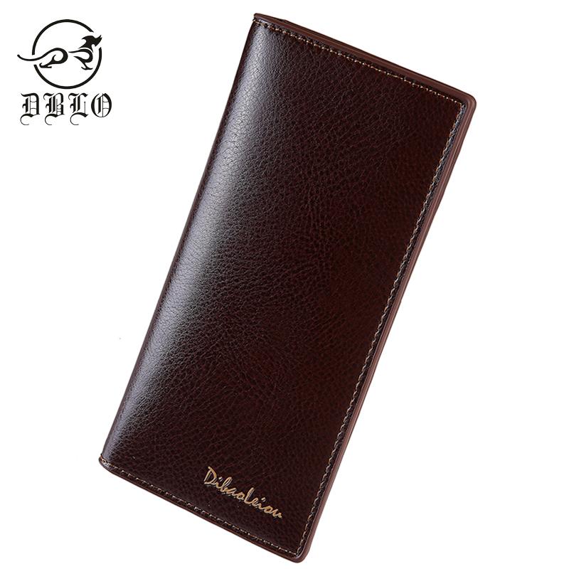 Casual PU Leather Wallet Men Card Holder Men Purse Brand Long Men Wallets Business Design Soft Male Purse New Men Clutch Handbag(China (Mainland))