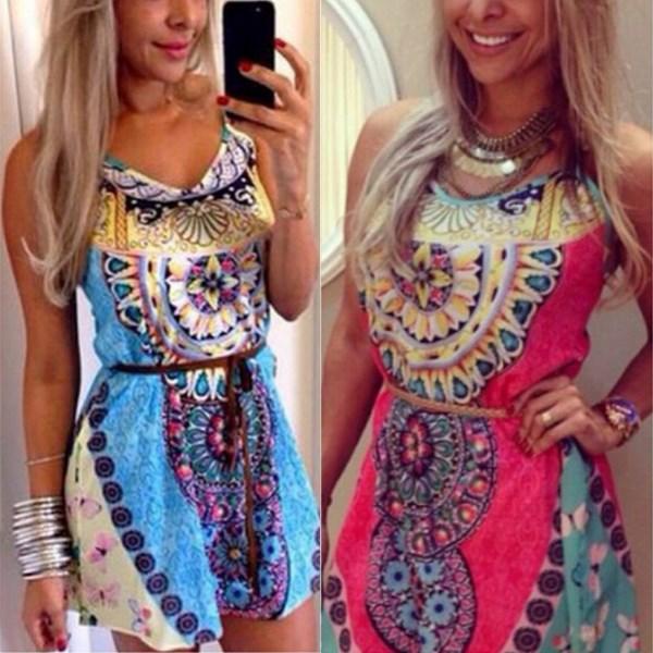 цена Женское платье Zanzea 2015 o /m l XL SKU202102 онлайн в 2017 году