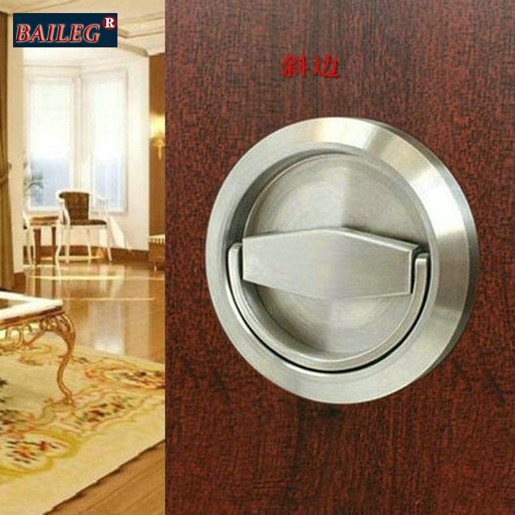 Invisible Door handles stainless steel pull rings backdrop invisible door handle surface mounted door handle(China (Mainland))