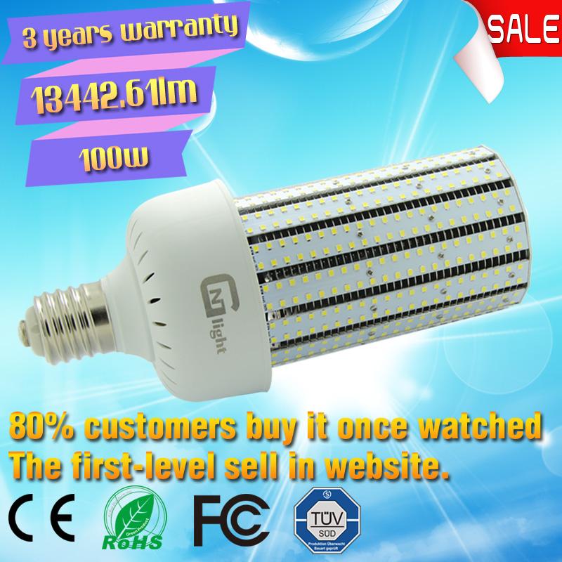 LED Street light 100W SMD garage lighting corn bulb light lighting lamp with UL factory direct sale(China (Mainland))