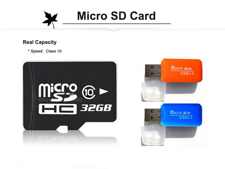 2016 New Micro sd Card 32GB 16GB 8GB Class 10 Full Capacity Guaranteed Full Refund TF memory card 32GB 16GB 8GB 4GB & USB Reader(China (Mainland))