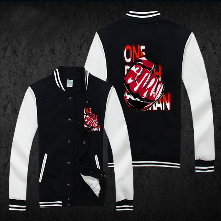 One Punch Man Hoodie Anime One Oppai Cosplay Baseball Jacket Coat SweatshirtОдежда и ак�е��уары<br><br><br>Aliexpress