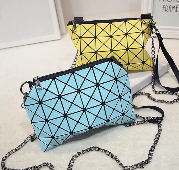 2015Hot! Vintage  Satchel  Women Messenger Bags laser lattice Bag Crossbody Women Bag<br><br>Aliexpress