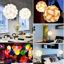 30 pz Lampada Puzzle di Elementi IQ Puzzle FAI DA TE Taglia S Creativo Bar Decor Luce Paralume paralume Design Home Decoration(China (Mainland))