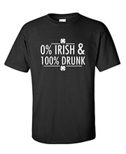 Buy 0% Irish & 100% D k Funny St Patricks Day T Shirt for $11.88 in AliExpress store