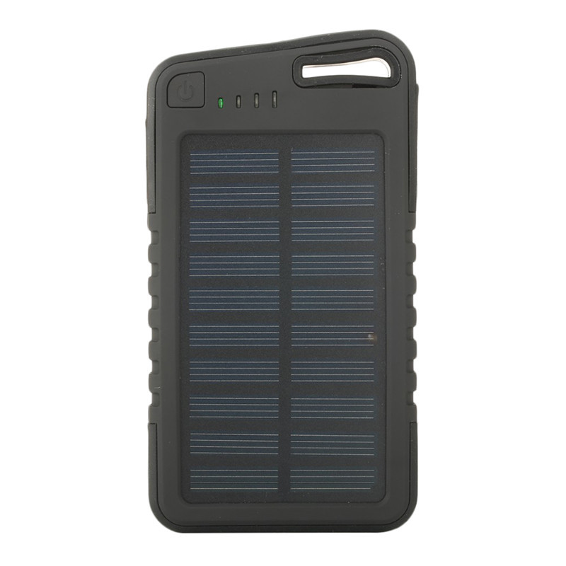 Solar PowerBank For Phone Battery Power Solar Panels Solar Charger Power Bank 8000Mah Powerbank For iPhone Android Smart Phone