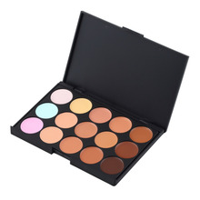1pc New Professional 15 Color Make Up Cream Camouflage Concealer Palette Hot Selling Worldwide sale(China (Mainland))