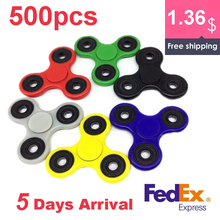 Buy 500pcs/lot Fedex IP Fidget Tri-Spinner Toys Sensory Fidget Spinner Autism ADHD Hand Spinner Anti Stress Fidget Toys spiner for $680.00 in AliExpress store