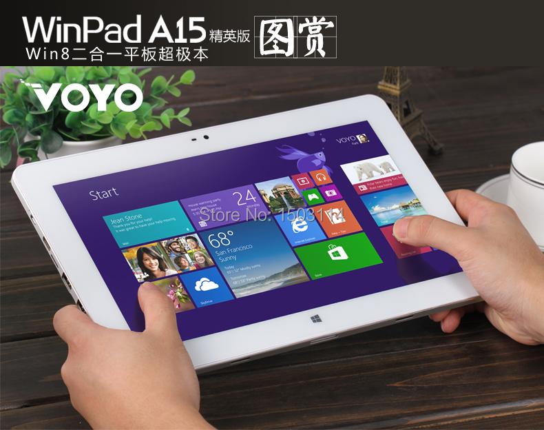 VOYO A15 11 6inch tablet pc 1366 768 windows8 intel z7375 quad Core 2GB 64GB with