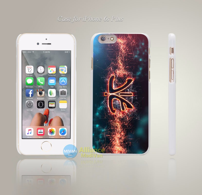 Fnatic HD LOGO intro Style Hard White Case Cover Coque for iPhone 4 4s 4g 5 5s 5g 5c 6 6s 6 6s Plus