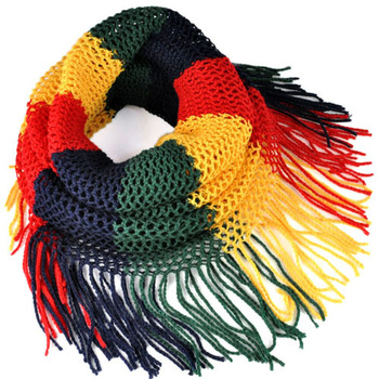 Women's winter warm magic knit scarf multi colors and usages loop ring scarf , NL-1930